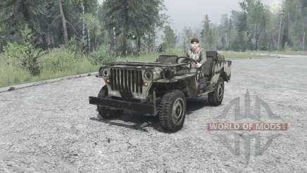 Willys MB 1942 pour MudRunner