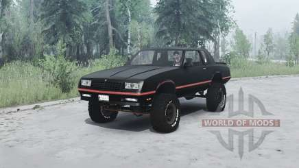 Chevrolet Monte Carlo SS 1986 pour MudRunner