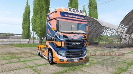 Scania R700 Evo TOPRUN pour Farming Simulator 2017