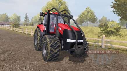 Case IH Magnum 370 CVX forest pour Farming Simulator 2013