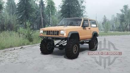 Jeep Cherokee (XJ) 1990 für MudRunner
