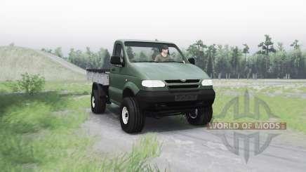 UAZ 2365 pour Spin Tires