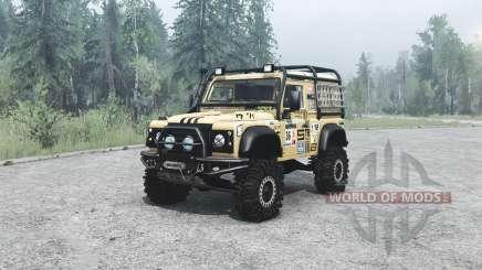 Land Rover Defender 90 off-road pour MudRunner