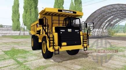 Caterpillar 773G v1.2 pour Farming Simulator 2017