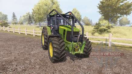 John Deere 7530 Premium forest pour Farming Simulator 2013