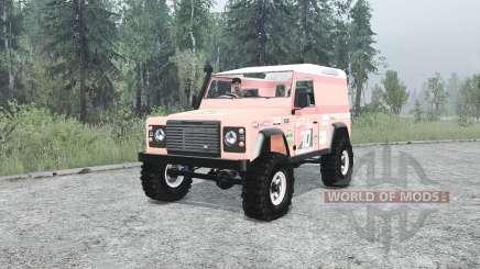Land Rover Defender 90 Hard Top pour MudRunner
