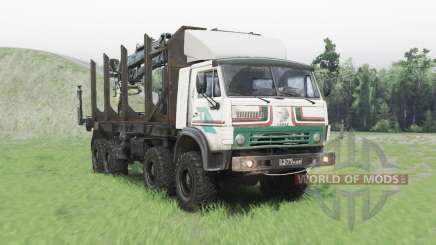 KamAZ 63501 Mustang pour Spin Tires