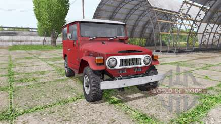 Toyota Land Cruiser Hard Top (BJ40VL) pour Farming Simulator 2017