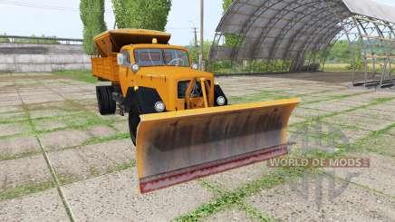 Magirus-Deutz 200 D 26 1964 schneepflug pour Farming Simulator 2017