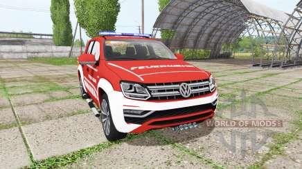 Volkswagen Amarok Double Cab feuerwehr für Farming Simulator 2017