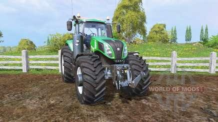 New Holland T8.320 green pour Farming Simulator 2015