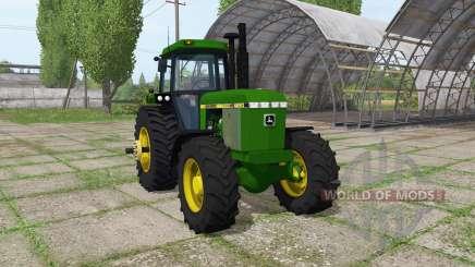 John Deere 4250 pour Farming Simulator 2017