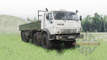 KamAZ 6350 Mustang pour Spin Tires