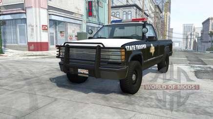 Gavril D-Series texas highway patrol für BeamNG Drive