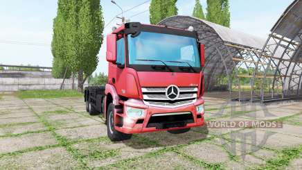 Mercedes-Benz Antos 2540 hooklift pour Farming Simulator 2017