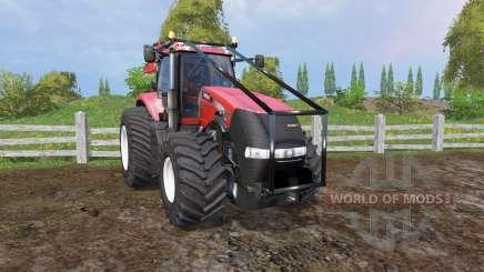 Case IH Magnum 380 CVX forest pour Farming Simulator 2015