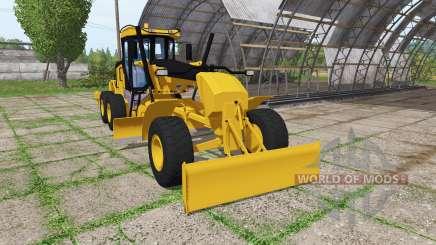 Caterpillar 140M v2.1 für Farming Simulator 2017