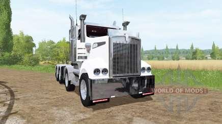 Kenworth T908 8x4|4 pour Farming Simulator 2017