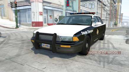 Gavril Grand Marshall texas highway patrol für BeamNG Drive