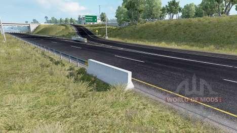 Realistic Roads für American Truck Simulator