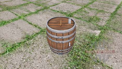 Barrel weight pour Farming Simulator 2017