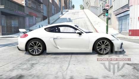 Porsche Cayman GT4 (981C) 2015 für BeamNG Drive
