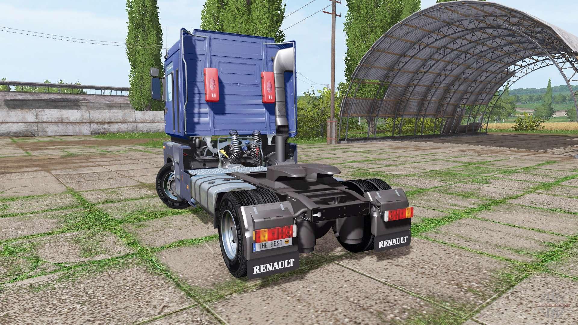 renault magnum f r farming simulator 2017. Black Bedroom Furniture Sets. Home Design Ideas