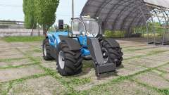 New Holland LM 7.42 bigger wheels