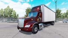 Peterbilt 579 box truck