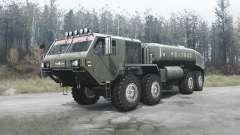 Oshkosh HEMTT (M977) China pour MudRunner