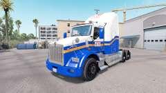 La peau de l'ATM sur le camion Kenworth T800