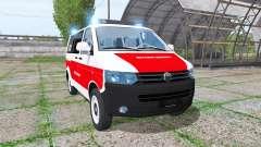 Volkswagen Transporter (T5) rettungsdienst