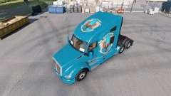 Les peaux de Poudlard Maisons pour le tracteur Kenworth T680 pour American Truck Simulator