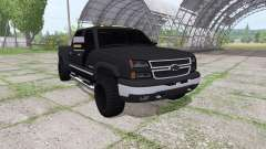 Chevrolet Silverado 2500 HD Crew Cab pour Farming Simulator 2017
