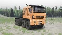 KAMAZ 65228 für Spin Tires