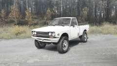 Datsun 510 pickup pour MudRunner