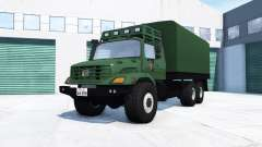 Mercedes-Benz Zetros 2733 A chinese army pour BeamNG Drive