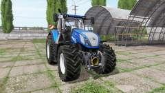 New Holland T7.315 BluePower