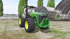 John Deere 8330 v3.7.7 für Farming Simulator 2017