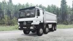 Mercedes-Benz Actros 4141 (MP2) pour MudRunner