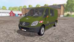Mercedes-Benz Sprinter 211 CDI belgian army