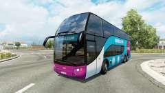 Bus traffic v1.8.2 für Euro Truck Simulator 2
