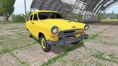 GAZ 21 Volga taxi