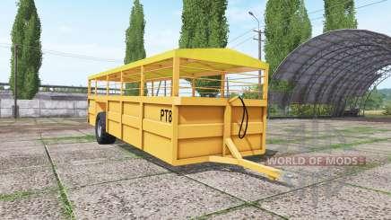 Richard Western CT8 pour Farming Simulator 2017