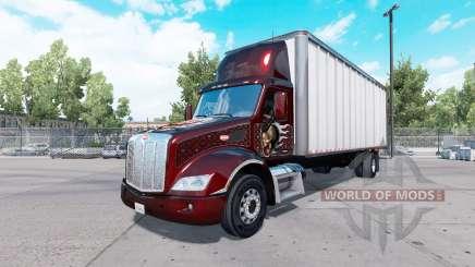 Peterbilt 579 box truck pour American Truck Simulator