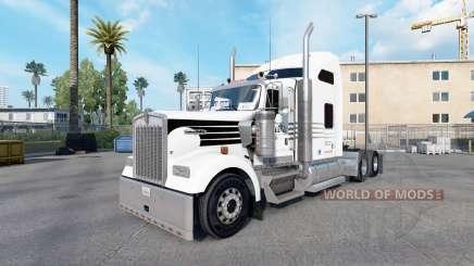 Haut Hunt Trucking-truck Kenworth W900 für American Truck Simulator