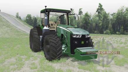 John Deere 8370R pour Spin Tires