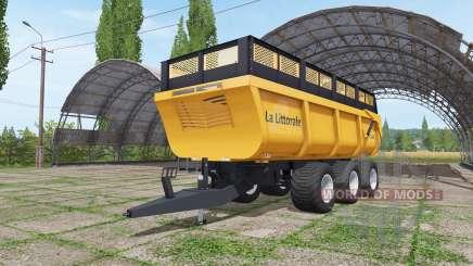 La Littorale C 390 v1.1 pour Farming Simulator 2017