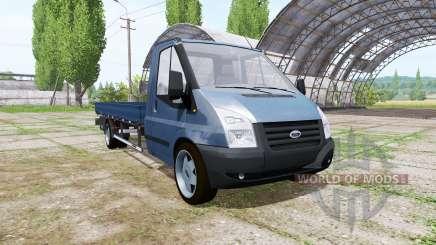 Ford Transit pickup 2006 v2.0 pour Farming Simulator 2017