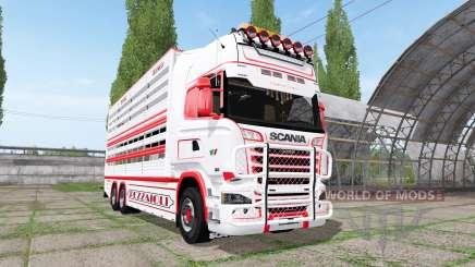 Scania R730 cattle transport v2.2 pour Farming Simulator 2017
